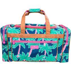 Simply Southern Palm Tree Print Duffel Bag