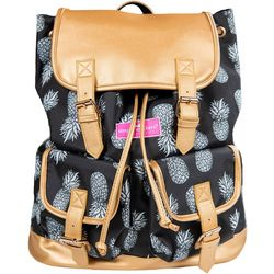Simply Southern Juniors Pineapple Print Buckled Backpack