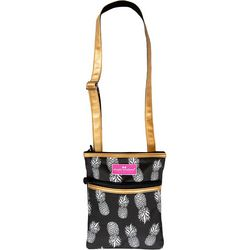 Simply Southern Pineapple Print Crossbody Handbag