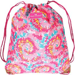 Simply Southern Tie Dye Print Drawstring Backpack