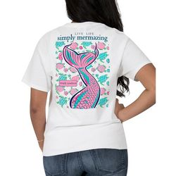 Simply Southern Juniors Live Life Simply Mermazing T-Shirt