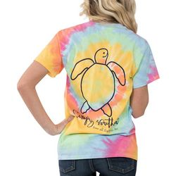 Simply Southern Juniors Turtle Tie Dye T-Shirt