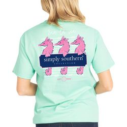 Simply Southern Juniors Sea-Le-Vie Seahorse T-Shirt