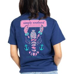 Simply Southern Juniors Preppy Lobster T-Shirt