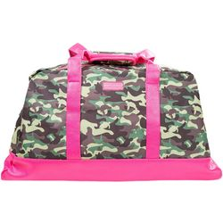 Simply Southern Camo Print Duffel Travel Bag