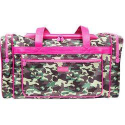 Simply Southern Camo Print Duffel Bag