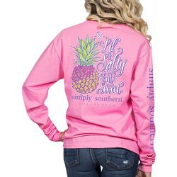 Simply Southern Juniors Lil' Salty But Sweet Long Sleeve Top