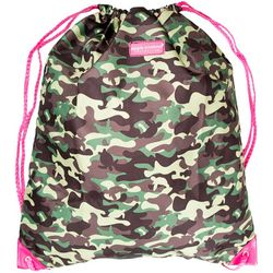 Simply Southern Camo Print Drawstring Backpack