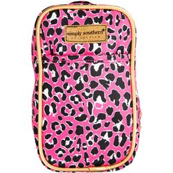 Simply Southern Leopard Print Phone Purse