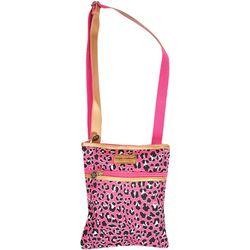 Simply Southern Leopard Print Crossbody Handbag