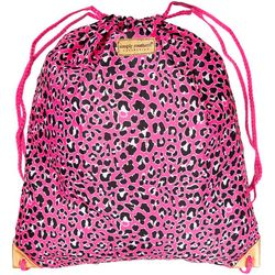 Simply Southern Leopard Print Drawstring Backpack