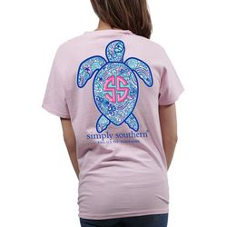 Simply Southern Juniors Save Sea Turtle T-Shirt