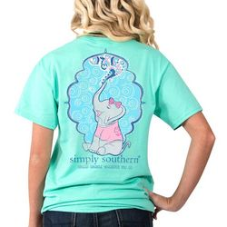 Simply Southern Juniors Spread Sparkle Elephant T-Shirt