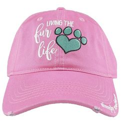 Simply Southern Juniors Living The Fur Life Baseball Hat