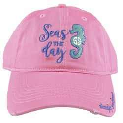 b421c5773c7dcd Simply Southern Juniors Seas The Day Baseball Hat