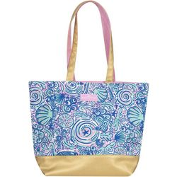 Simply Southern Swirly Sea Shell Tote Bag