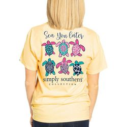 Simply Southern Juniors Sea You Later Turtle T-Shirt