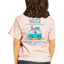 Simply Southern Juniors Water You Doing This Weekend T-Shirt
