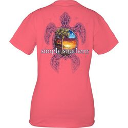 Simply Southern Juniors Sea Turtle Scenic T-Shirt