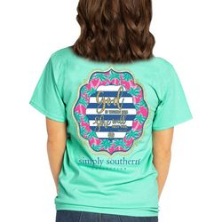 Simply Southern Juniors God Is Within No Fail T-Shirt