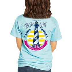 Simply Southern Juniors Be The Light Lighthouse T-Shirt
