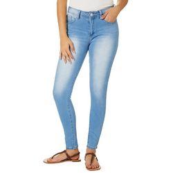 RAW 7 Juniors Faded Modern Skinny Denim Jeans