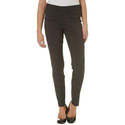 Leighton Juniors Checkered Pull On Millennium Pants