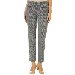 Leighton Juniors Houndstooth Pull On Pants