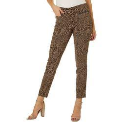 Leighton Juniors Leopard Pull On Pants