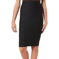 Shinestar Juniors Solid Pull On Pencil Skirt