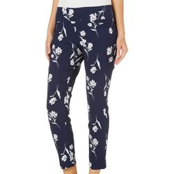 Joe Benbasset Juniors Floral Pull On Pants
