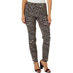 Joe Benbasset Juniors Leopard Print Pull On Pants