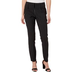 Joe Benbasset Juniors Vertical Stripe Pull On Pants