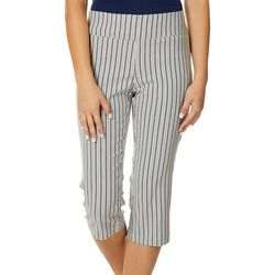 Joe Benbasset Juniors Striped Pedal Pusher Capris
