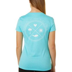 Chubby Mermaids Juniors Manatee Coordinates Top