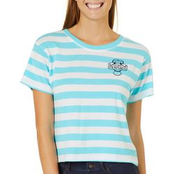Chubby Mermaids Juniors Striped T-Shirt