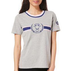 Chubby Mermaids Juniors Ringer T-Shirt