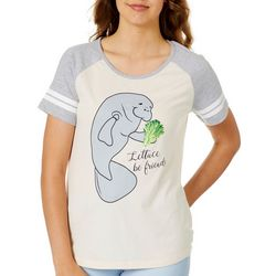 Chubby Mermaids Juniors Lettuce Be Friends T-Shirt