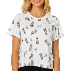 Chubby Mermaids Juniors Save The Chubby Mermaids T-Shirt
