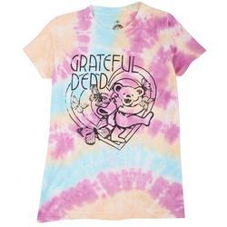 Juniors Bear In Heart T-Shirt