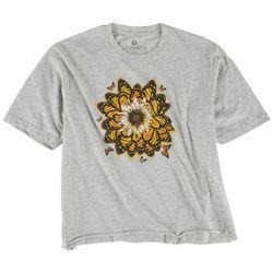 STUNNER Juniors Butterfly Flower T-Shirt