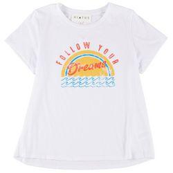 Hiatus Juniors Follow Your Dreams Graphic T-Shirt
