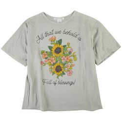 Caution To The Wind Juniors Blessings Short Sleeve Top