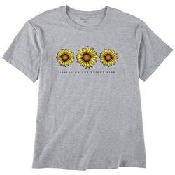 Petty Rebel Juniors Living On The Brightside  T-shirt