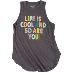 Cold Crush Juniors Life is Cool Tank Top