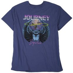Journey Mens Departure Solid Graphic Logo T-Shirt