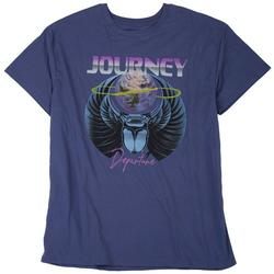 Mens Departure Solid Graphic Logo T-Shirt