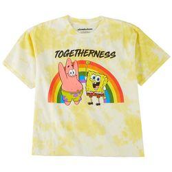 Nickelodeon Juniors SpongeBob Front Graphic Print Tee