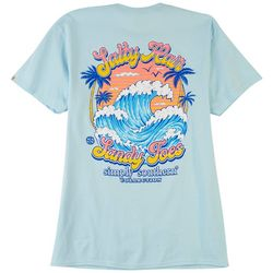 Simply Southern Juniors Salty Hair SAndy Toes T-Shirt