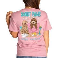Juniors Sandy Paws T-Shirt